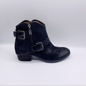 Donald J. Pliner  Dalis Ankle Leather Zip Boots